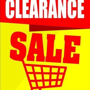Other - 🛑CLEARANCE EVENT🛑
